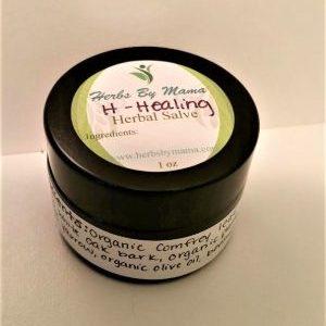 H-Healing Herbal Salve Jar